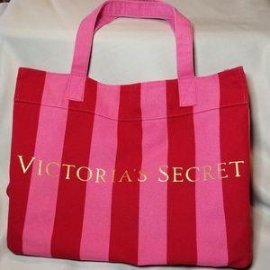 Victoria's Secret Striped Tote